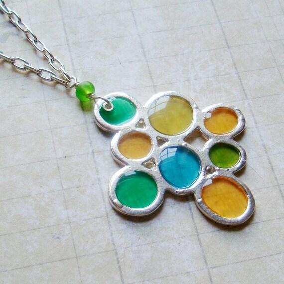 Effervescence Pendant - Pebbles Pendant in Mojito
