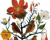 Five Sparrows