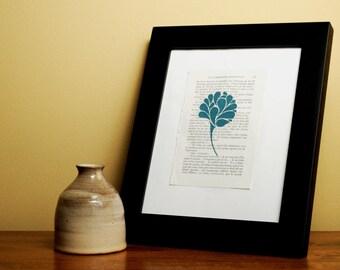 Lotus Book Print