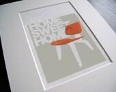 Home Sweet Home Print (item No. P-2009-8) sm