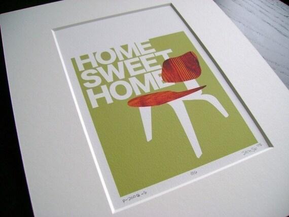 Home Sweet Home Print (item No. P-2008-6) sm