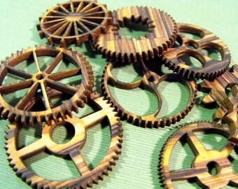 Wood Grain Gears