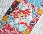 QUILT PATTERN, Lap or Twin Coverlet size.... Easy and Quick, one Layer Cake, Angels Staircase