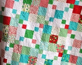 QUILT PATTERN.... Quick and Easy... Layer Cake or Charm Packs, Rocky Road