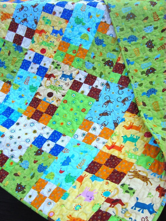 Little Boy Blue Crib Or Toddler Bed Quiltpattern Also For