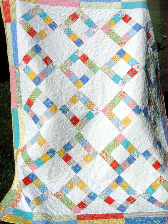 1930 S Reproduction Feedsack Quilt Moda S City