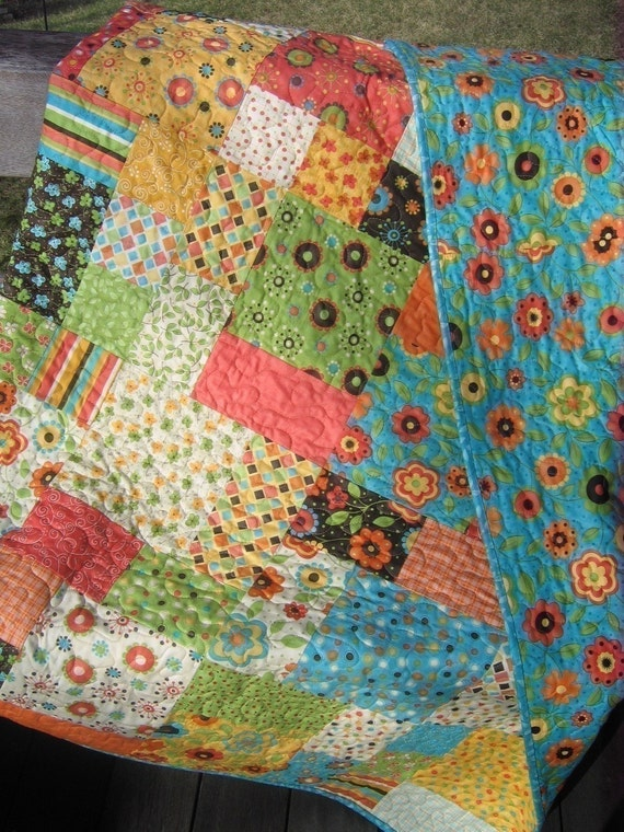 Quilt Pattern Baby And Large Lap Size Easy And By