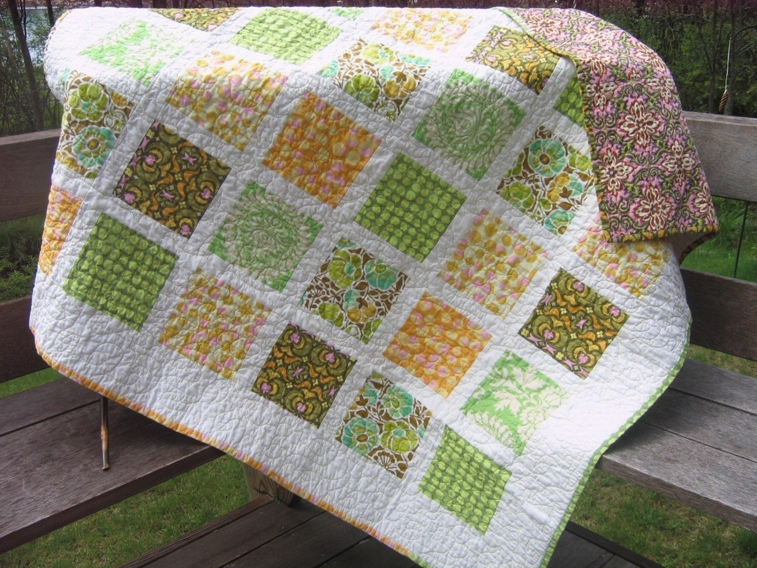 Quilting Patterns Basic : QUILT PATTERN....Simple Quick and Easy French Window Panes