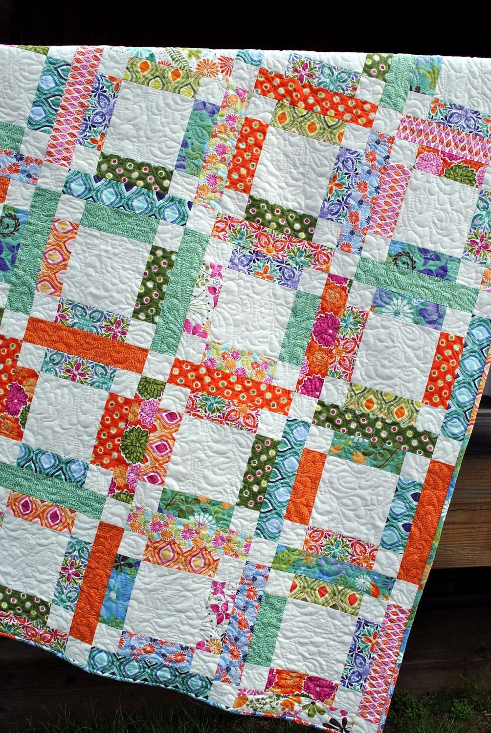 Quilt Pattern One Jelly Roll Easy And Quick Grandma