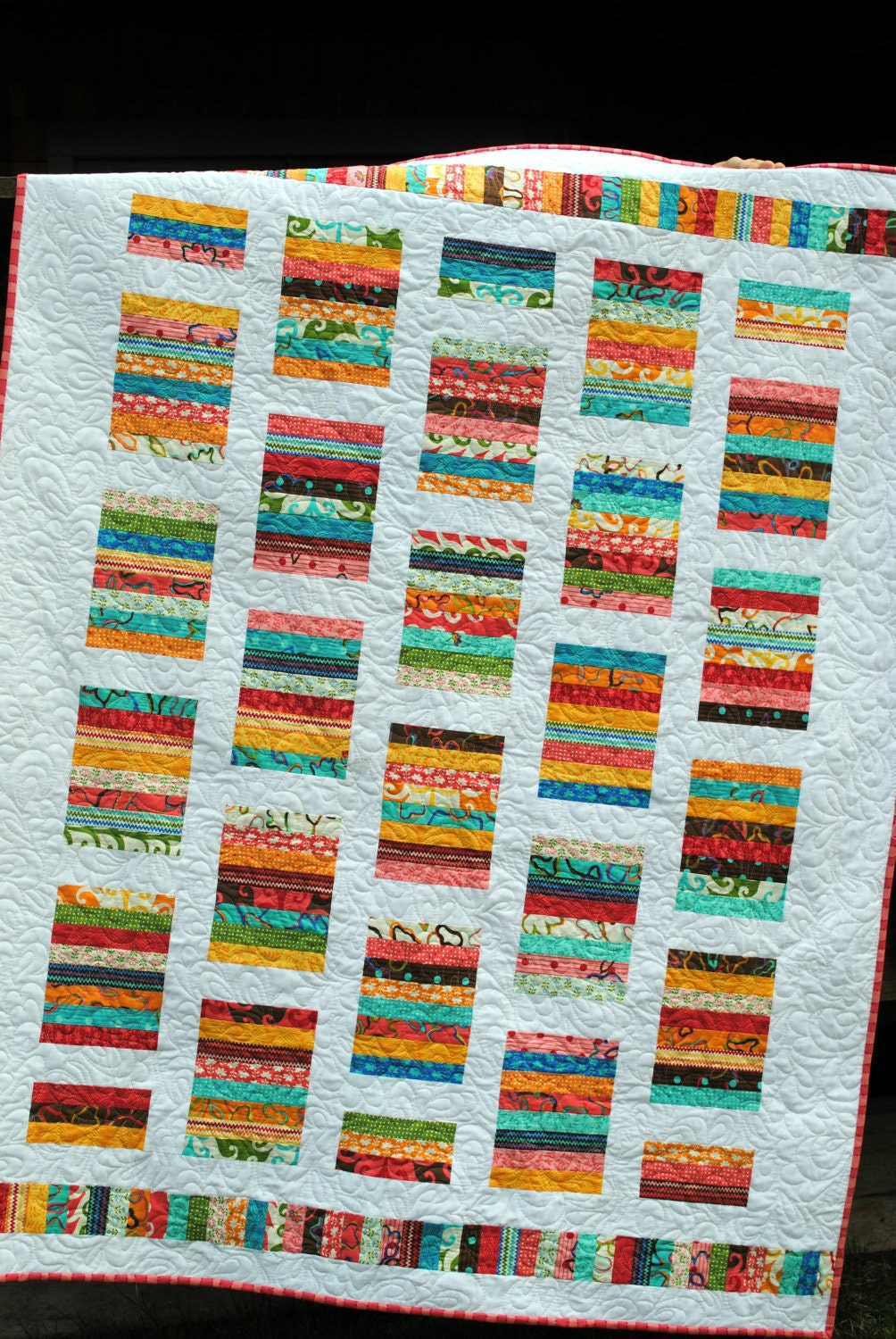 Pdf Quilt Pattern Quick And Easy Layer Cake Or Fat