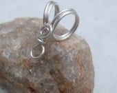 Handmade Sterling Silver Filled Bail V, PurpleLily Designs, SRA Suitable for Viking Knit