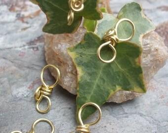 Handmade Brass Pendant Bails III, PurpleLily Designs, SRA