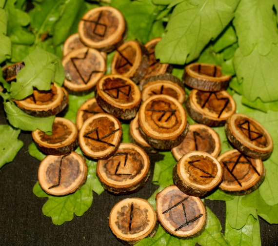 Mysterious Wood Rune Set