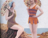 1930s Knit Your own Swimsuit - Vintage Knitting Pattern PDF Instant Download