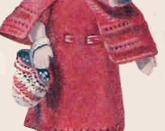 Knitting Pattern For Little Red Riding Hood Doll : 1930s riding clothes Etsy