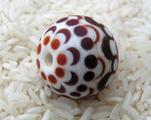 Glass Focal Bead - Handmade Lampwork Beads - HowFunIsThat -  Free Shipping to US and Canada - SRA
