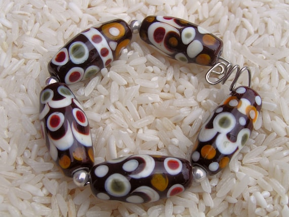 Handmade Lampwork Glass Beads - Howfunisthat - Free Shipping to US and Canada - SRA