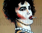 """Print 5x7"""" - Dr. Frank N Furter - Rocky Horror Picture Show"""