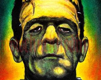 """Print 8x10"""" - Frankenstein"""