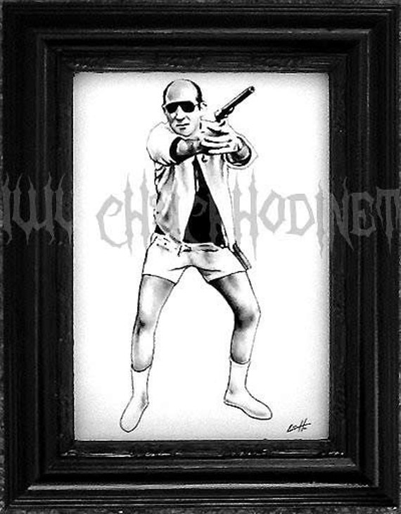 Hunter S. Thompson - Original Drawing
