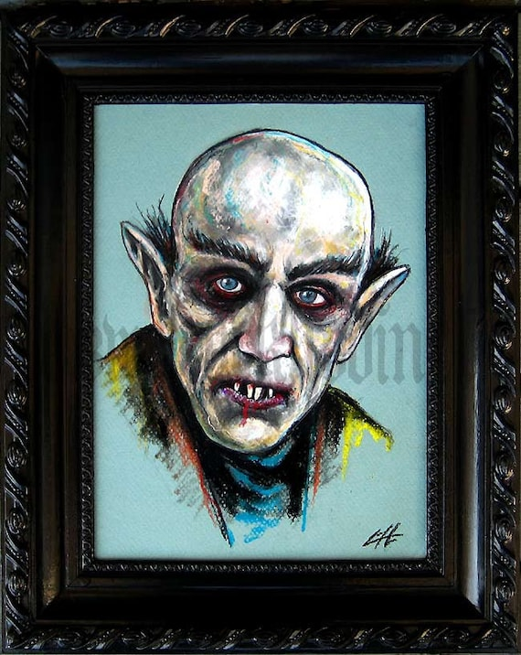 Nosferatu - Original Drawing