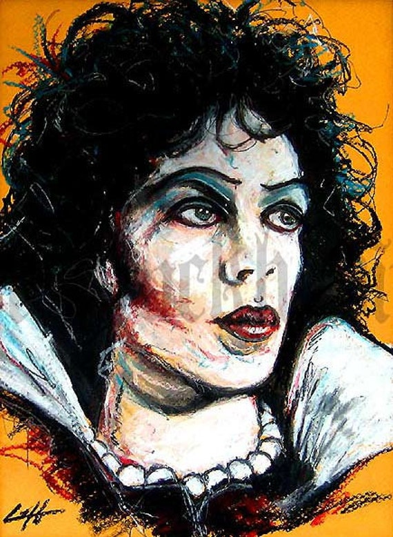 Print 8x10 - Dr. Frank N Furter - Rocky Horror Picture Show