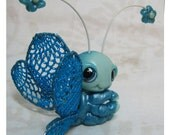 Kawaii Chibi Baby Dragonfly Reserved for Gabi