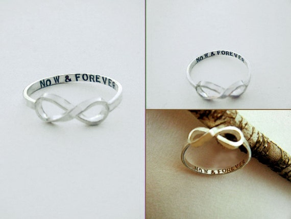 NOW & FOREVER Infinity Ring for leeperetz
