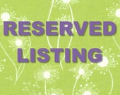 Reserved listing for Andrea Misuraca 12-31-2016