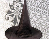 Black Witches Hat- Adult size