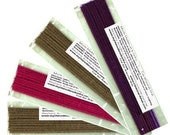 40 sticks - 5 sticks of 8 flavors. Try our TOP 8 flavors.  Incense Variety/Sampler pack....