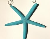 Resin Jewelry - Slim Turquoise Starfish Necklace