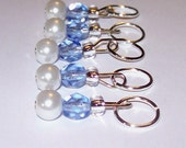 Chance of Flurries stitch markers by AnniePurl