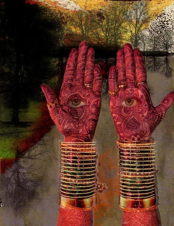 Hamsa hand-eye