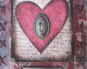 Entre Vous et Moi Altered Art Shrine