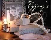 Tiffany's All Natural Artisan Homemade Soap. Original patented recipe.