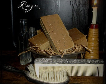 Raze. All Natural Acne Blemish Soap. It works