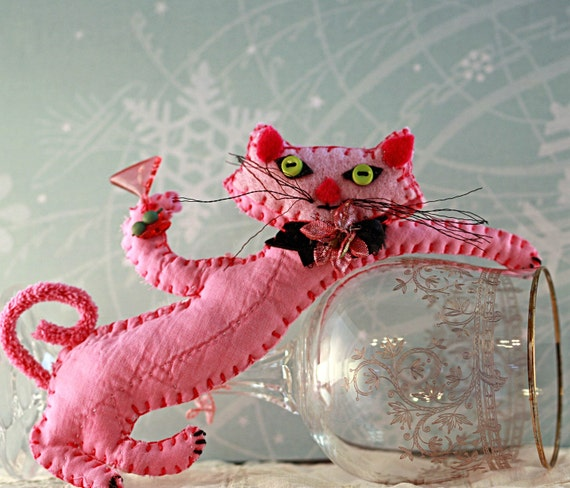 Pink Martini P J Lounger Kitty Quilty Critter