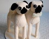 SALE Pug Cake Topper