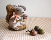 SALE Squirrel Cake Topper