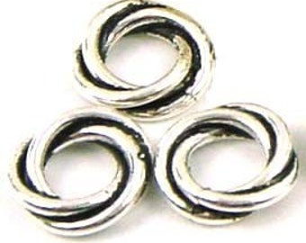 5 Sterling Silver Spacer Beads for Pasha Trollbead Chamilia bracelet B30o