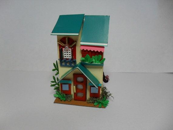 Decorative Arts Miniatures Houses Magnet