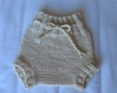 Natural undyed Frantic Mama Soaker, size newborn