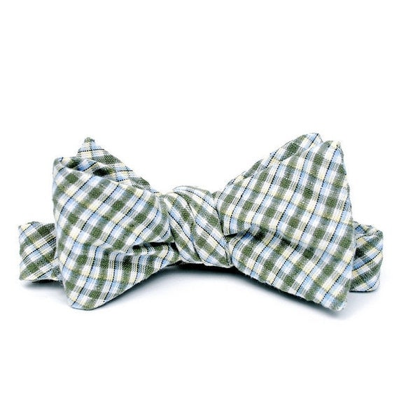 FORAGE sample sale. bow tie / celery
