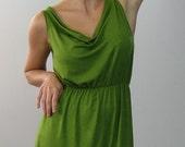avocado green dress size large