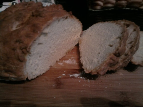 No Yeast Bread  RECIPE - Eggless - Yeastless - Vegan