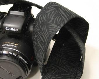 Camera Strap - Black/Grey Brushstroke - SLR, DSLR