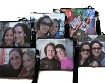 Wristlet Purse -  Made With Your Photos by Howard Avenue
