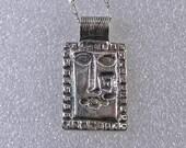 Sale.... Clearance... PMC pendant .999 silver Custom designer jewelry Australian Designer MSIA team jewellery