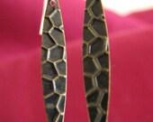 Brass Daggers and Sterling silver earrings Custom designer jewelry Australian Designer MSIA team jewellery